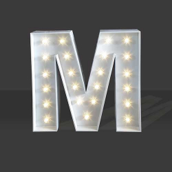 LED Light Up Letter - 120cm - M