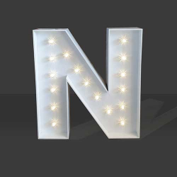 LED Light Up Letter - 60cm - N