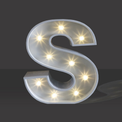 LED Light Up Letter - 60cm - S