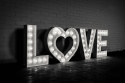 Light Up Letters 60CM