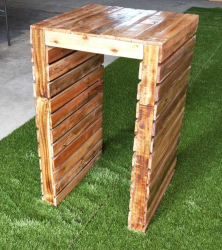 Pallet Cocktail Table