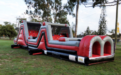 15 Mtr Rage 2 Obstacle Course and Slide