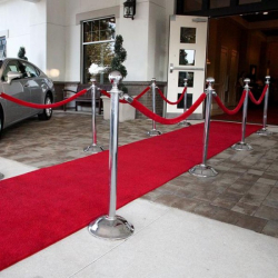 Red Carpet Aisle Runner Plush - 1.2m x 6m