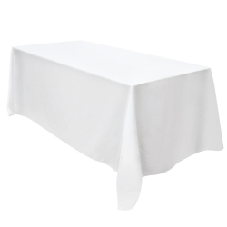 White Tablecloth - Suit 2.4Mtr Trestle Table
