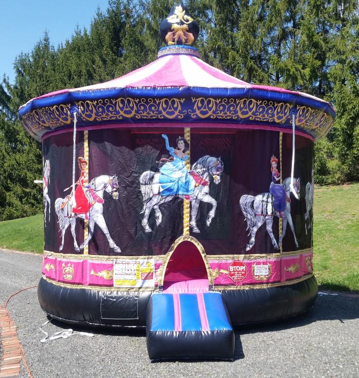 Princess Carousel Bouncer