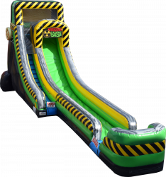 20 foot Caustic Drop Slide