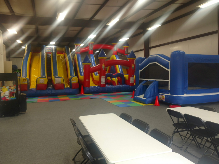 Indoor Party Zone 10am to 12pm