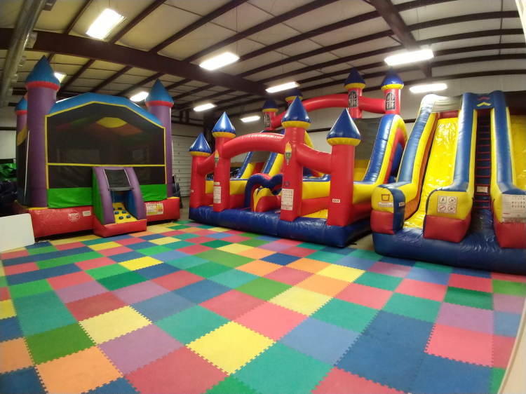 Indoor Party Zone 6pm to 8pm