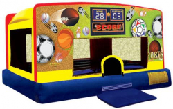 Bounce houses - small (as below)