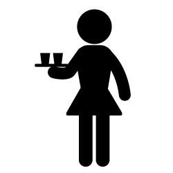 Wait Staff - Cocktail Service - Female