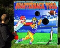 Sports Football Quarterback Toss