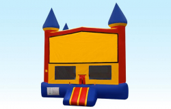 Bounce House Jumper - Standard - Yellow Blue Red