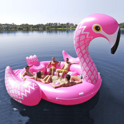 GIANT Party Bird Island Flamingo
