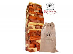Giant Jenga - Premium Redwood - Indoor Use Only