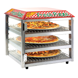 Heated Pizza Display