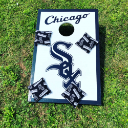 Corn Hole Bean Bag Toss - Chicago White Sox