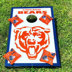 Corn Hole Bean Bag Toss - Chicago Bears