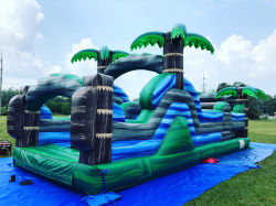 30 Foot Tropical Paradise Obstacle Course
