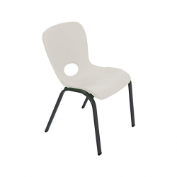 Kids Stacking Chair - Almond