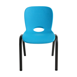 Kids Stacking Chair - Glacier Blue