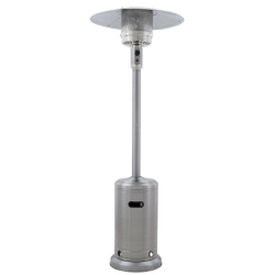 Patio Heater - Stainless Steel Propane - 41,000 BTU