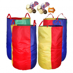 Potato Sack Race Bags - Colored