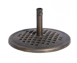 Umbrella Base - Stone - Bronze Finish