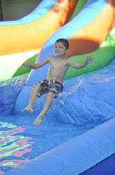 16' Water Slide with Splash Down Pool