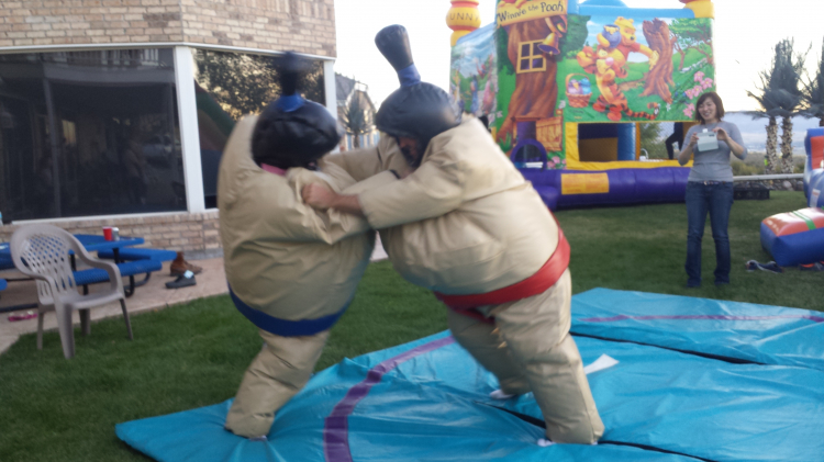 Sumo Wrestling Suits With Mat Checketts Amusements