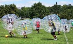 Soccer Bubble Balls