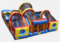 Giant Obstacle Race Course / Three Piece