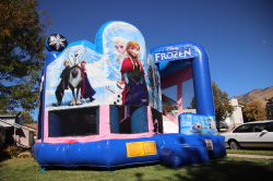 Disney's Frozen Bounce and Slide Combo