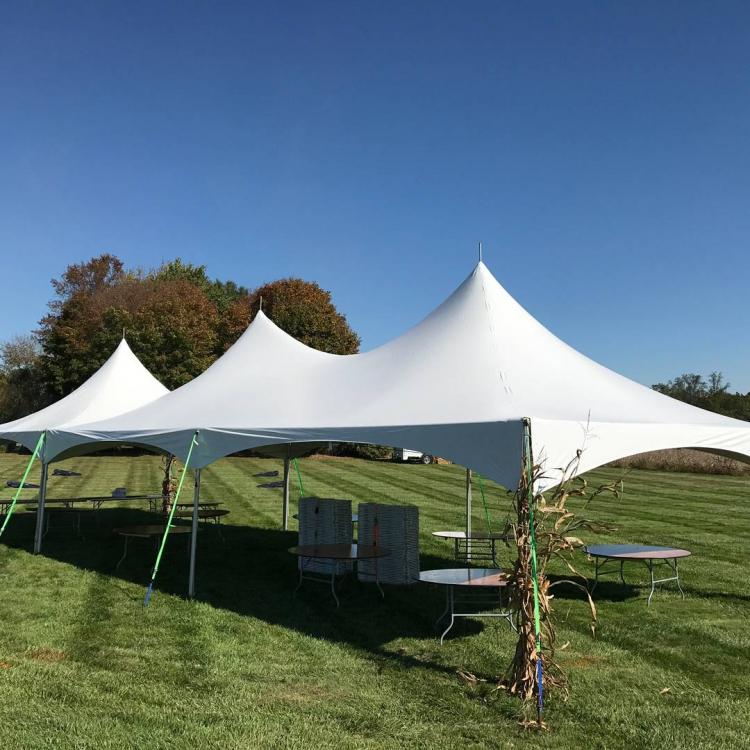 20x60 High Peak Frame Tent Package - Chesapeake Bay Inflatables