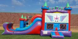 Colorful Castle Unicorn Wet