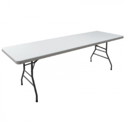 Table-White 8 Foot
