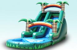 16FT Tropical Dry Slide  (29x11x16)