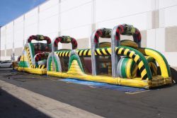 75FT Toxic Obstacle Course  (75x11x20)