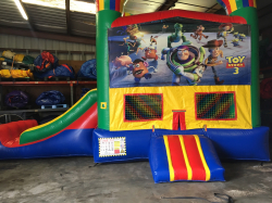 Toy Story Bouncer W/Slide  (22x13x15)