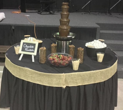 Chocolate Fountain Bar