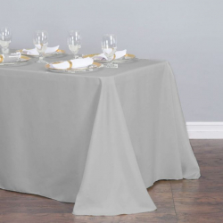90 x 156 in. Rectangular Polyester Tablecloth