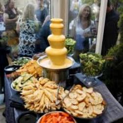 Nacho Cheese Fountain Bar