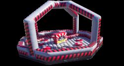 Ninja Warrior dome & wrecking ball combo