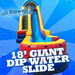 18' Giant Dip Water Slide