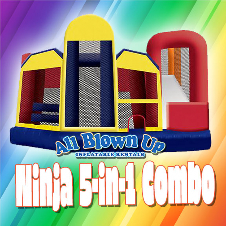 Ninja 5-in-1 Slide Combo