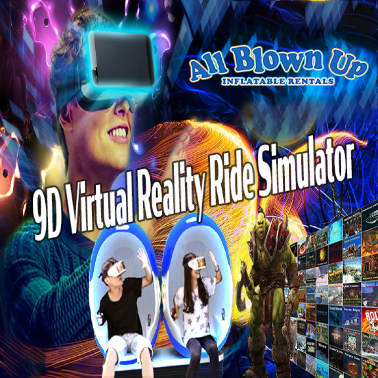 9D Virtual Reality Ride Simulator