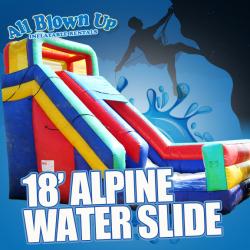 18' Alpine Water Slide