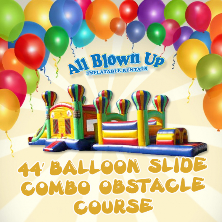 44' Balloon Slide Combo Obstacle Course