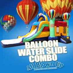 Balloon Water Slide Combo