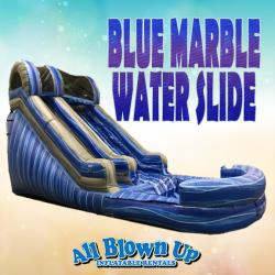 Blue Marble Water Slide