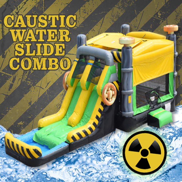 Caustic Water Slide Combo